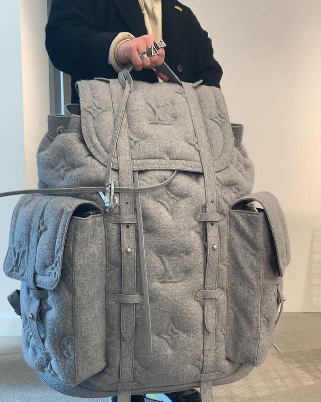 Sau bộ rút gỗ 57 triệu đồng, Louis Vuitton ra mắt chiếc ba lô khổng lồ 230 triệu đeo trĩu cả lưng - Ảnh 5.