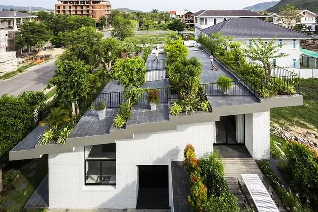 Ngôi nhà có vườn treo tại Nha Trang - Ảnh 1.