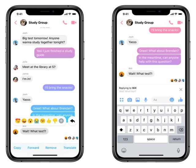 Facebook Messenger bổ sung tính năng trả lời trích dẫn, tiến thêm một bước trong việc hợp nhất các nền tảng chat - Ảnh 1.