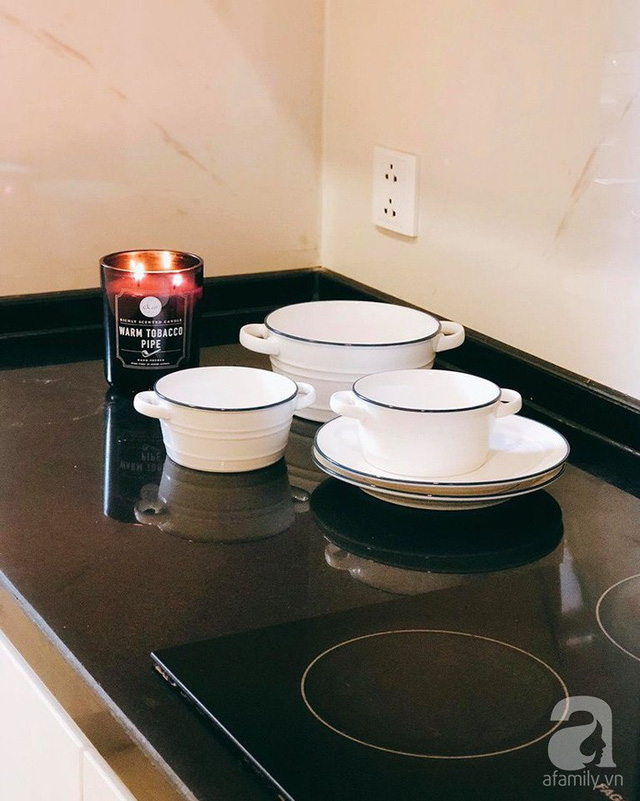 Kinh nghiệm thú vị biến căn hộ đi thuê thành tổ ấm siêu đẹp với chi phí cực tiết kiệm của mẹ hai con Hà Thành - Ảnh 12.