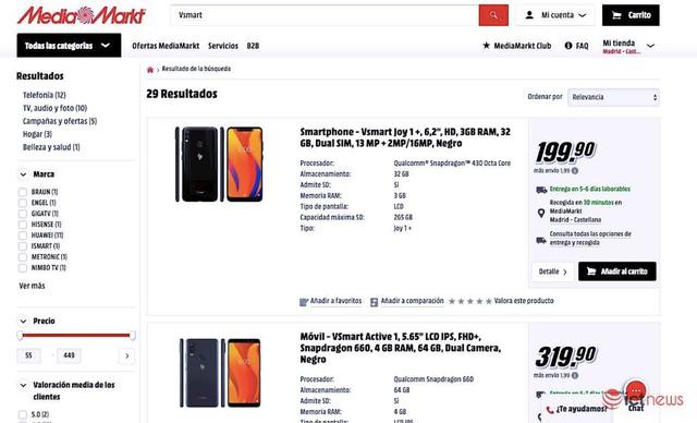 Smartphone của tỷ phú Phạm Nhật Vượng đã bán qua website của nhà bán lẻ điện tử tiêu dùng hàng đầu châu Âu MediaMarkt - Ảnh 1.