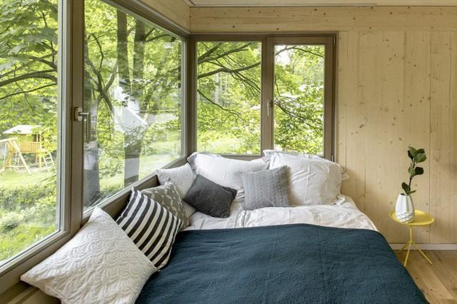Ngắm ngôi nhà trên cây đẹp lãng mạn giữa đồi núi mênh mông - Ảnh 9.