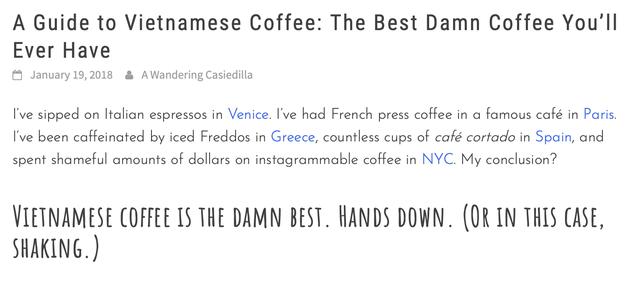 Blogger du lịch nước ngoài nói rằng cà phê Việt Nam sẽ thay đổi cuộc đời bạn và đây là những lý do vì sao - Ảnh 2.
