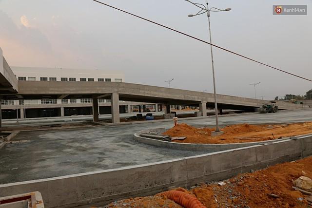 Cận cảnh bến xe Miền Đông lớn nhất Việt Nam đang dần thành hình, tổng vốn đầu tư 4 nghìn tỷ - Ảnh 12.