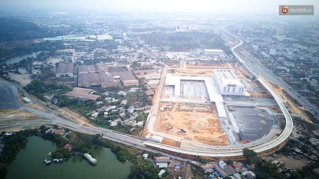 Cận cảnh bến xe Miền Đông lớn nhất Việt Nam đang dần thành hình, tổng vốn đầu tư 4 nghìn tỷ - Ảnh 17.