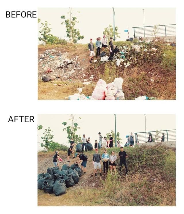 #ChallengeForChange: Nói dọn rác là làm màu cũng được, vì chúng mình sẽ... làm màu cho đến khi hết rác! - Ảnh 8.