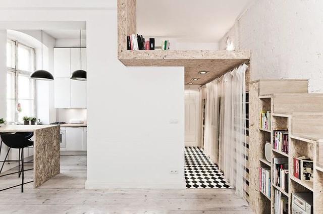 Nhà nhỏ bỗng rộng thênh thang nhờ thiết kế thông minh - Ảnh 9.