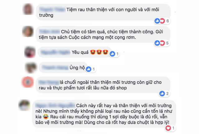 Sau Chiang Mai, các cửa hàng rau ở Việt Nam cũng bắt đầu chiến dịch hạn chế túi nilon - Ảnh 9.
