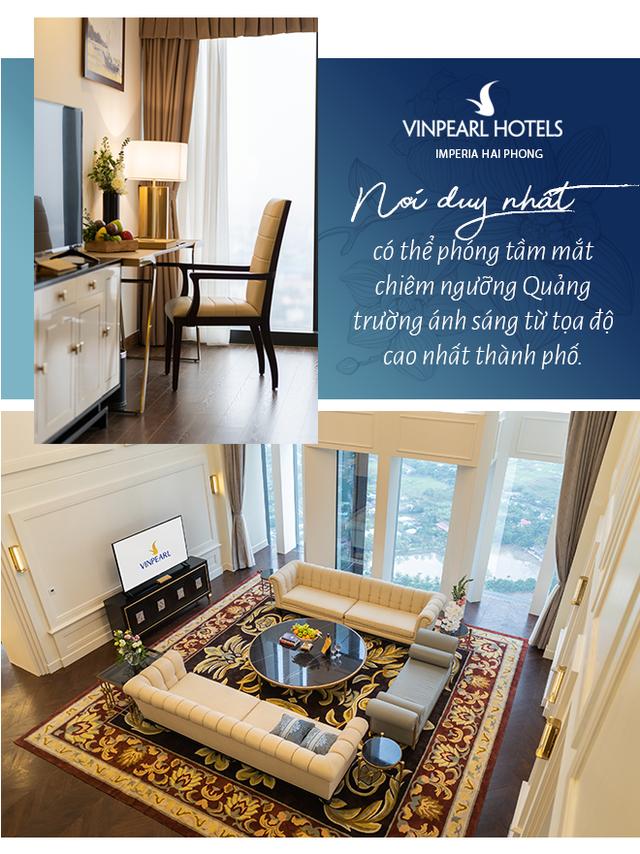 Vinpearl Hotel Imperia Hải Phòng: Viên ngọc dưới ánh mặt trời - Ảnh 6.