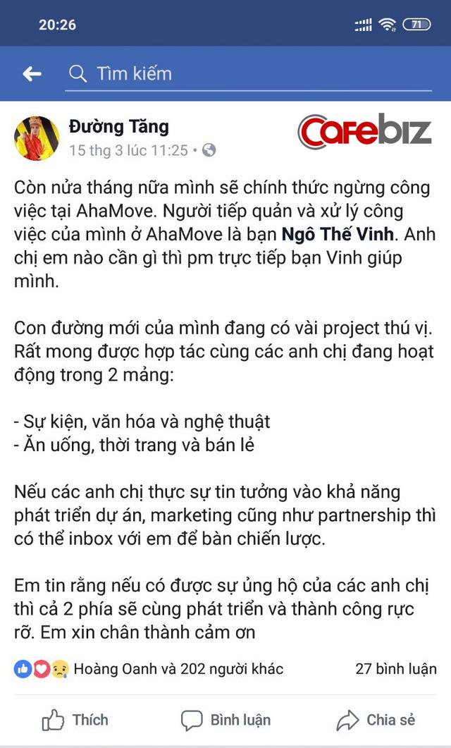 Sau Go-Viet, ứng dụng giao hàng Việt Ahamove cũng thay CEO, phải chăng các startup đã quá mệt trước cơn bão lấy tiền đè người của Grab? - Ảnh 2.