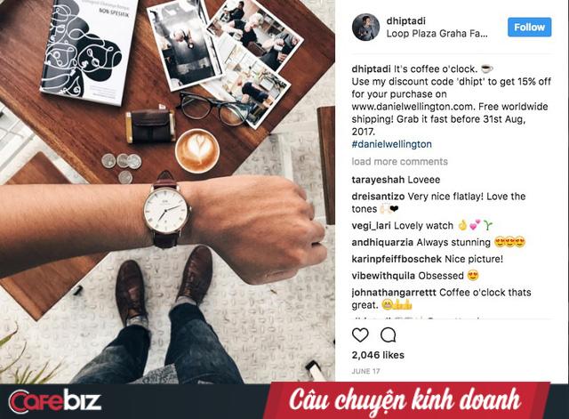 """Mẫu mã và công nghệ """"tầm thường"""", chỉ dựa vào Instagram, đồng hồ Daniel Wellington trở thành thế lực thời trang nhờ chiến lược marketing 0 đồng - Ảnh 3."""