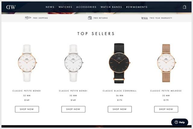 """Mẫu mã và công nghệ """"tầm thường"""", chỉ dựa vào Instagram, đồng hồ Daniel Wellington trở thành thế lực thời trang nhờ chiến lược marketing 0 đồng - Ảnh 6."""