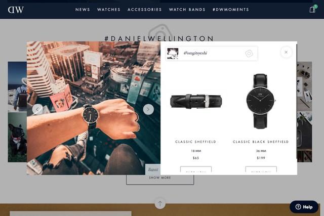 """Mẫu mã và công nghệ """"tầm thường"""", chỉ dựa vào Instagram, đồng hồ Daniel Wellington trở thành thế lực thời trang nhờ chiến lược marketing 0 đồng - Ảnh 8."""