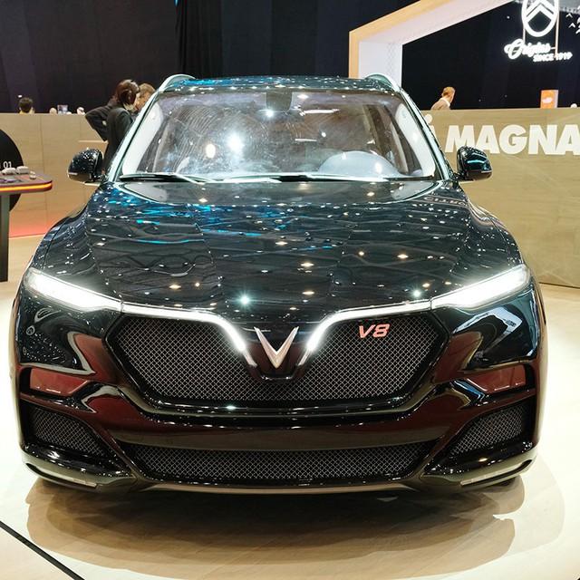 VinFast trình làng mẫu SUV Lux phiên bản đặc biệt tại Geneva Motor Show - Ảnh 2.