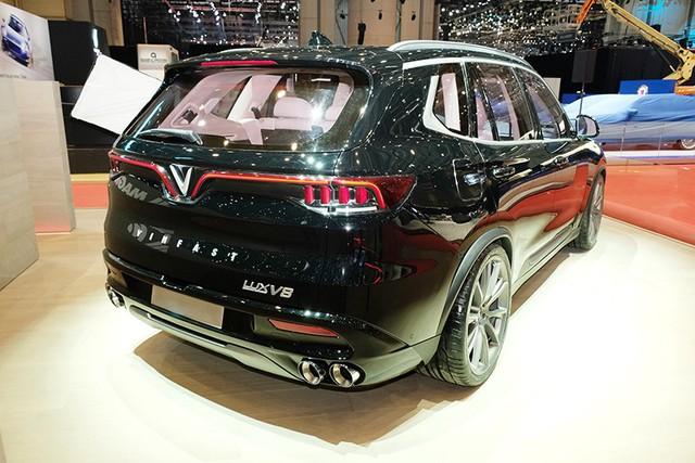 VinFast trình làng mẫu SUV Lux phiên bản đặc biệt tại Geneva Motor Show - Ảnh 3.