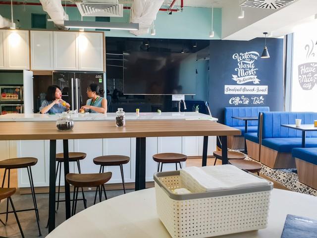 Bên trong văn phòng mở 360 độ tại Tp.HCM - Ảnh 1.