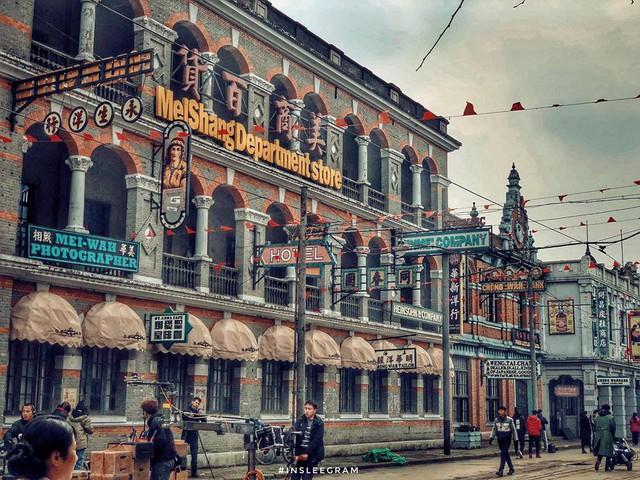 Tham quan phim trường lớn nhất Thượng Hải: Tân Dòng Sông Ly Biệt và 1 loạt tác phẩm nổi tiếng đều quay ở đây - Ảnh 4.