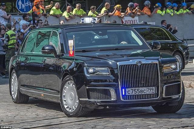 Siêu xe bọc thép gần 7.000 tỷ đồng của tổng thống Putin có gì lạ? - Ảnh 1.