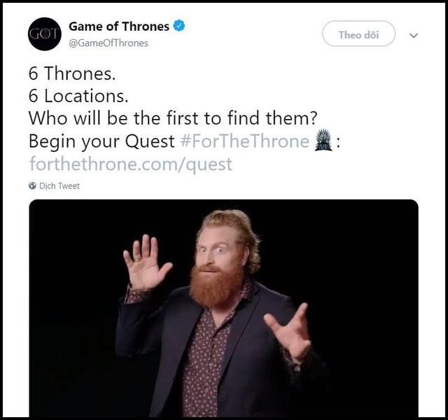 Nhà không có gì ngoài điều kiện, Game of Thrones chơi trò giấu ghế khắp địa cầu, fan khuyên: Đừng đặt ở Việt Nam! - Ảnh 1.