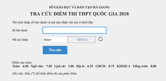 Nhiều thí sinh được nâng điểm ở Hà Giang là con cháu lãnh đạo? - Ảnh 2.