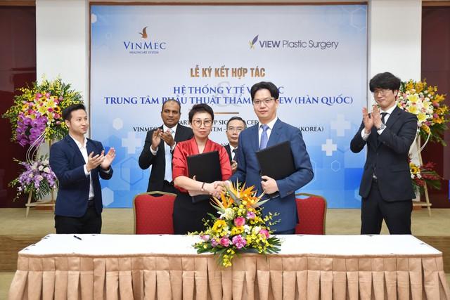 Vinmec vừa mang thương hiệu phẫu thuật thẩm mỹ hàng đầu Hàn Quốc về Việt nam - Ảnh 1.