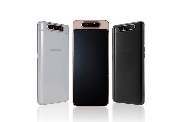 Samsung Galaxy A80: Smartphone có camera trượt xoay 180 độ đầu tiên trên thế giới - Ảnh 2.