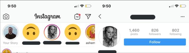 Instagram bị người dùng tố hiển thị Story của người lạ - Ảnh 2.