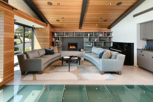Ngôi nhà vừa ấm áp vừa gần gũi với người dùng chỉ nhờ chất liệu đơn giản này - Ảnh 3.
