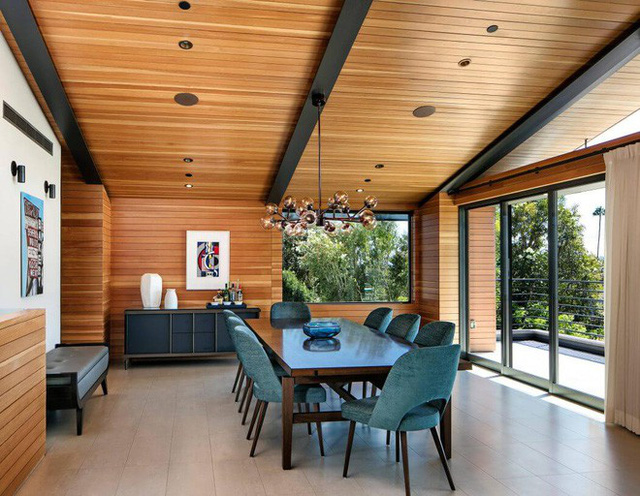 Ngôi nhà vừa ấm áp vừa gần gũi với người dùng chỉ nhờ chất liệu đơn giản này - Ảnh 7.