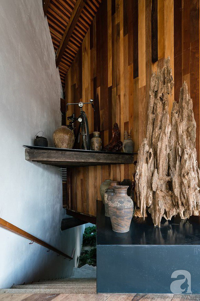 Ngôi nhà gỗ mang hơi thở đồng bằng Bắc Bộ tách biệt tiếng ồn, khói bụi dù xây giữa lòng thành phố Nha Trang - Ảnh 11.