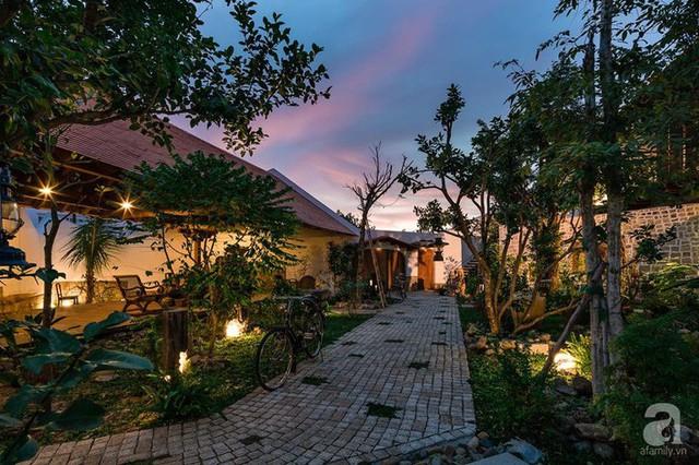 Ngôi nhà gỗ mang hơi thở đồng bằng Bắc Bộ tách biệt tiếng ồn, khói bụi dù xây giữa lòng thành phố Nha Trang - Ảnh 4.