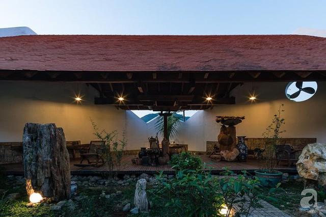 Ngôi nhà gỗ mang hơi thở đồng bằng Bắc Bộ tách biệt tiếng ồn, khói bụi dù xây giữa lòng thành phố Nha Trang - Ảnh 32.