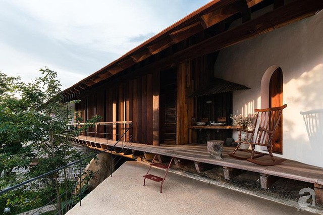 Ngôi nhà gỗ mang hơi thở đồng bằng Bắc Bộ tách biệt tiếng ồn, khói bụi dù xây giữa lòng thành phố Nha Trang - Ảnh 34.
