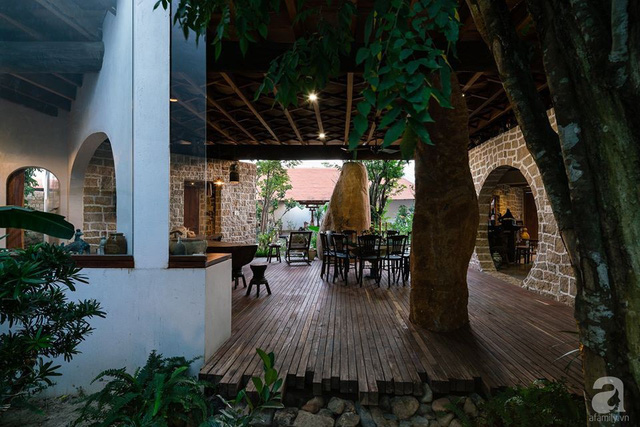 Ngôi nhà gỗ mang hơi thở đồng bằng Bắc Bộ tách biệt tiếng ồn, khói bụi dù xây giữa lòng thành phố Nha Trang - Ảnh 42.