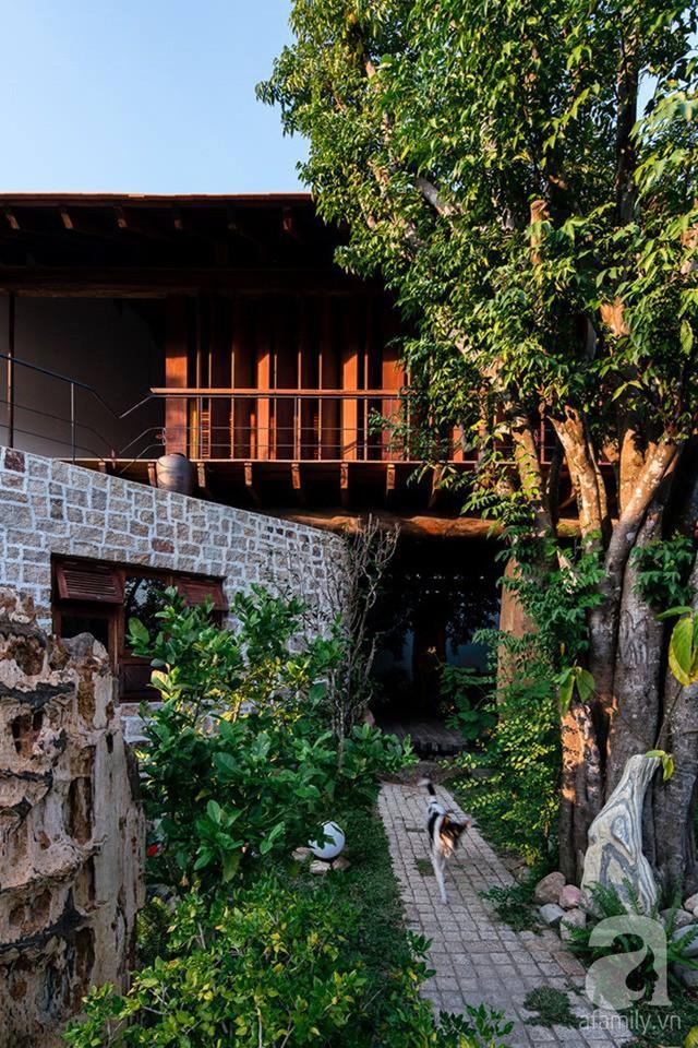 Ngôi nhà gỗ mang hơi thở đồng bằng Bắc Bộ tách biệt tiếng ồn, khói bụi dù xây giữa lòng thành phố Nha Trang - Ảnh 44.