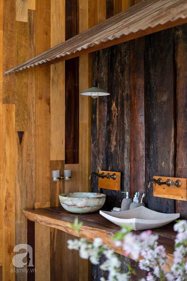 Ngôi nhà gỗ mang hơi thở đồng bằng Bắc Bộ tách biệt tiếng ồn, khói bụi dù xây giữa lòng thành phố Nha Trang - Ảnh 50.