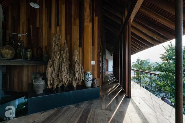 Ngôi nhà gỗ mang hơi thở đồng bằng Bắc Bộ tách biệt tiếng ồn, khói bụi dù xây giữa lòng thành phố Nha Trang - Ảnh 7.
