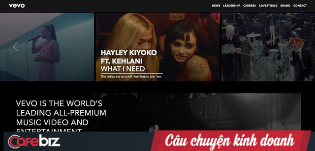 """""""Người hùng thầm lặng"""" Vevo: Phân phối video âm nhạc cho toàn thế giới nhưng không lấy 1 xu! - Ảnh 2."""