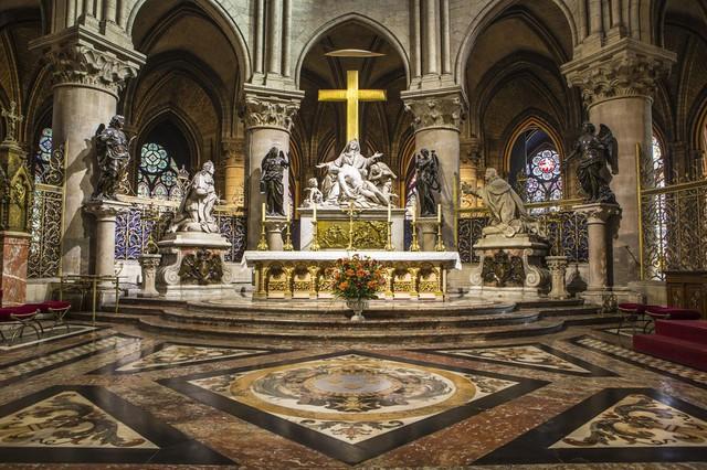 [Ảnh] Những báu vật bên trong Nhà thờ Đức Bà Paris - Ảnh 2.