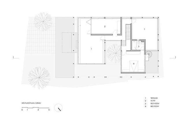 Độc đáo căn nhà ở Huế có thể nhìn xuyên thấu tất cả các phòng - Ảnh 14.