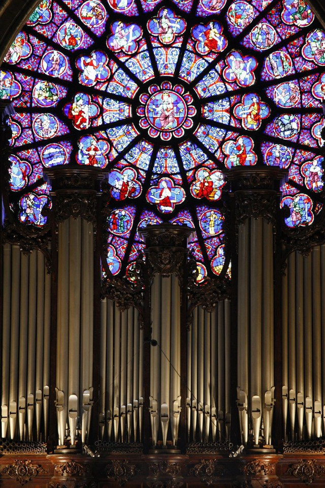 [Ảnh] Những báu vật bên trong Nhà thờ Đức Bà Paris - Ảnh 3.