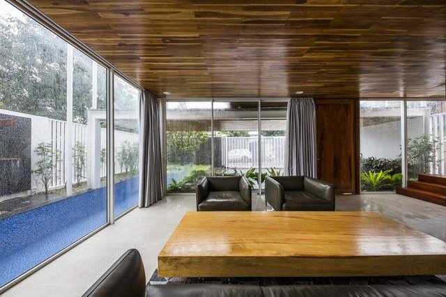 Độc đáo căn nhà ở Huế có thể nhìn xuyên thấu tất cả các phòng - Ảnh 4.