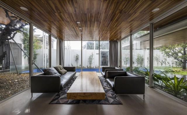 Độc đáo căn nhà ở Huế có thể nhìn xuyên thấu tất cả các phòng - Ảnh 7.