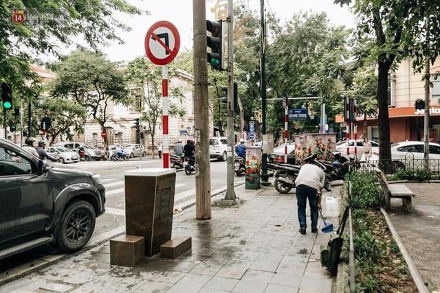 Trụ nước sạch miễn phí xuất hiện ở Hà Nội: Người thích thú, người lầm tưởng là... bồn rửa tay - Ảnh 2.