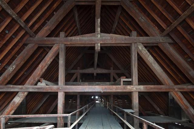 Nước Pháp không còn cây gỗ đủ cao để phục chế mái nhà thờ Đức Bà - Ảnh 1.