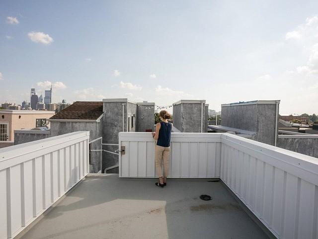 Ngôi nhà 32m² thiết kế như tòa cao ốc mini khiến ai nấy đều trầm trồ - Ảnh 13.