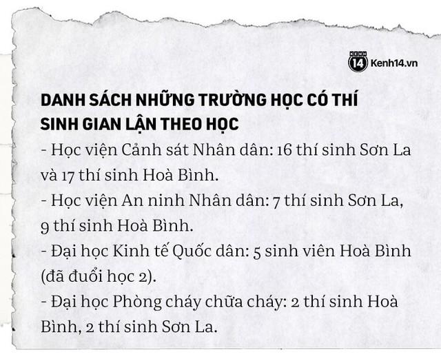 Toàn cảnh bê bối sửa điểm chấn động của 222 thí sinh Hà Giang, Sơn La, Hoà Bình: Toàn thủ khoa rởm đỗ Y Đa khoa, Cảnh sát, Công an - Ảnh 4.