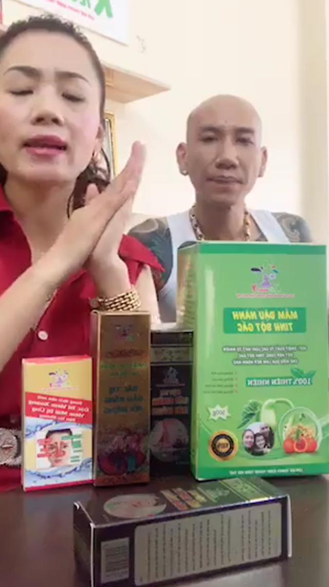 Vợ chồng ca sĩ Phú Lê bị điều tra vì quảng cáo thuốc không giấy phép với tác dụng... trên trời - Ảnh 1.