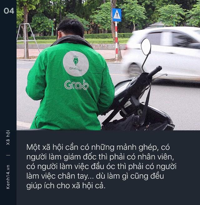 Tốt nghiệp ĐH rồi chạy Grab 2 năm, chàng trai gây tranh cãi vì quan điểm: Hà Nội không dành cho những kẻ sinh ra từ làng như chúng ta - Ảnh 4.
