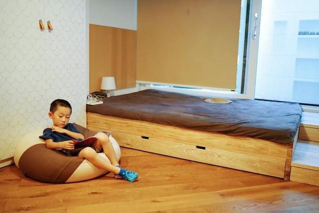 Căn hộ 27m² cũ rích, vừa hẹp vừa dài biến hình thành không gian hiện đại dành cho gia đình 5 người sau cải tạo - Ảnh 15.